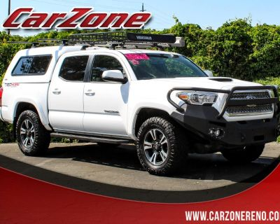 Used 2017 Toyota Tacoma TRD Off Road Double Cab 5' Bed V6 4x4 MT (Natl)