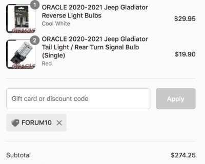 Affordable Packages for Complete Rear-End LED Conversion!