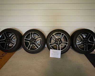 """Mustang OEM 18"""" Wheels & Tires"""