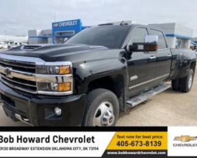 2019 Chevrolet Silverado 3500HD High Country Crew Cab Long Box 4WD