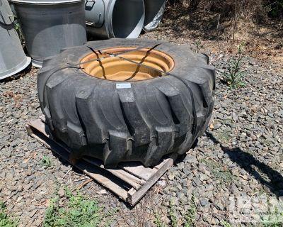 Titan Tractor Tire w/ Rim
