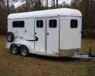 New 2 Horse Enclosed Aluminum Dressing Room Trailer