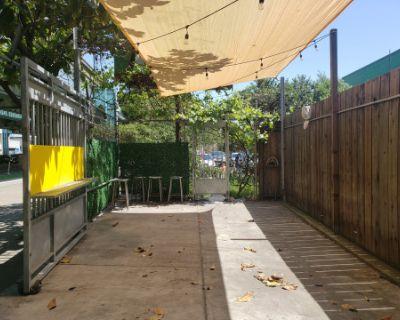 Unique Outdoor Patio Space with Concession Trailer Included, San Francisco, CA