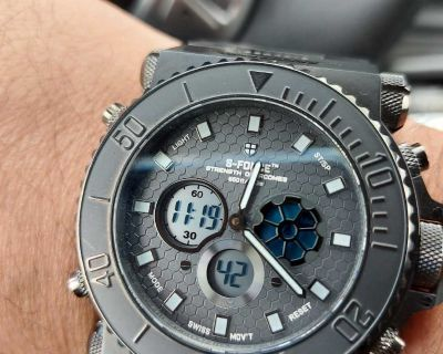 Military S-Force watch