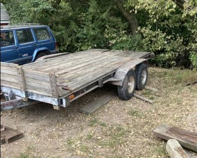 7 x 14 flatbed trailer