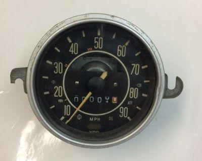 Rebuilt Speedometer 3/70