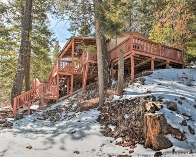 Rustic Cloudcroft Cabin w/Deck-Near Skiing & Fishing! - Cloudcroft