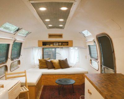 Unique & Comfy Mid Century Bohemian Airstream, decatur, GA
