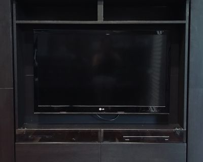 Home Entertainment System (includes LG TV, Ikea TV stand & Toshiba DVD player)