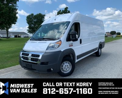 Used 2018 RAM Promaster 3500 High Roof Tradesman 159-in. WB Ext