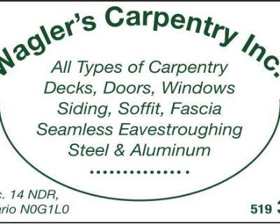 Wagler's Carpentry Inc All ...