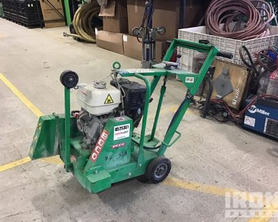 2016 (unverified) Edco DS-18-13H Walk Behind Saw