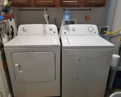 Kenmore 100 series washer and dryer