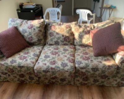 Love seat and sofa