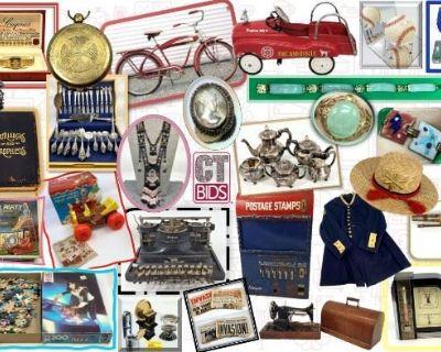Sterling Antiques & Collectibles CTBIDS Online Auction Estate Sale