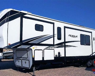 2022 FOREST RIVER ROGUE ARMORED 4007 G2 5TH WHEEL - TOY HAULER