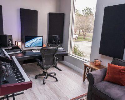 Professional Audio Recording Studio, webster, TX
