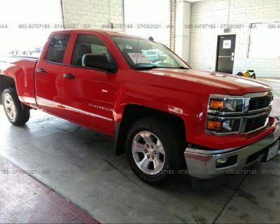 Salvage Red 2014 Chevrolet Silverado 1500