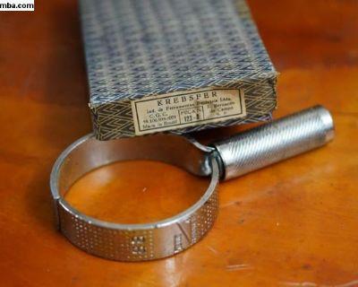 NOS Piston Ring Compressing Tool Krebsfer