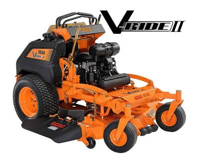 2020 SCAG Power Equipment V-Ride II 61 in. Kawasaki 25 hp Stand-On Mowers Bowling Green, KY