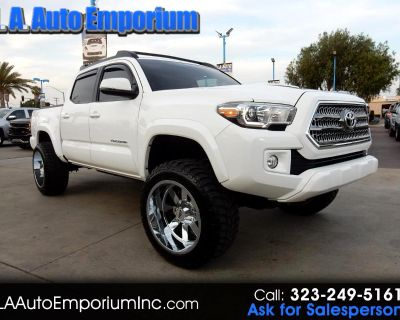 Used 2017 Toyota Tacoma TRD Sport Double Cab 5' Bed V6 4x4 AT (Natl)