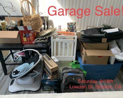 Family Garage Sale this Saturday