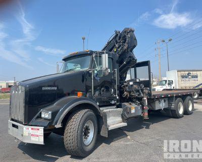 Hiab 288 PRO on 2007 Kenworth T800 6x4 T/A Knuckle Boom Truck