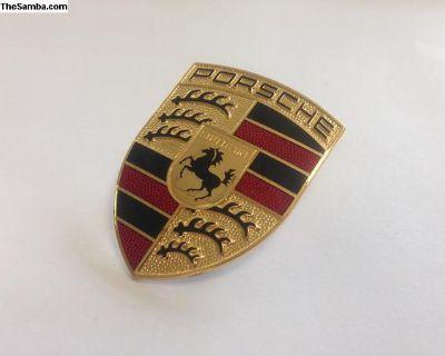 Porsche 911 Hood Crest Later Style