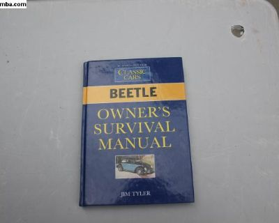 Beetle Owners Survival Manual by Jim Tyler