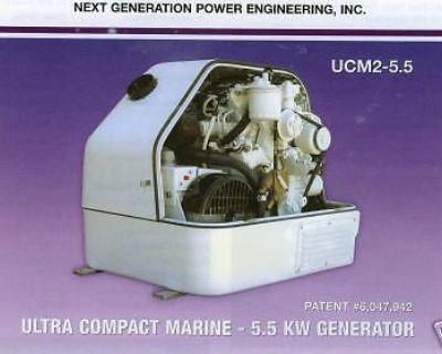 5.5kw Marine Genset, Kubota Diesel Power, Ultra Compact