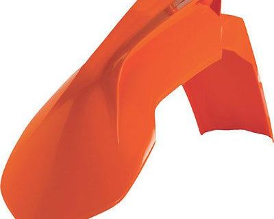 Acerbis Front Fender (orange) For Ktm 125 Sx 2013-2015