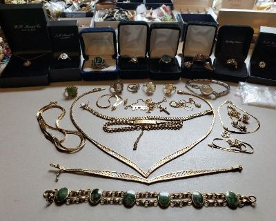 STUNNING TREASURE TROVE BEVERLY ESTATE SALE JUNE 12TH ANTIQUES, JEWELRY, FURNITURE, VINTAGE FISHING!