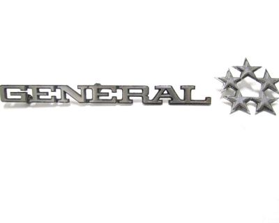 Vtg Gmc General 5 Star Tractor Trailer/semi Truck Badge Custom Car/hot Rat Rod