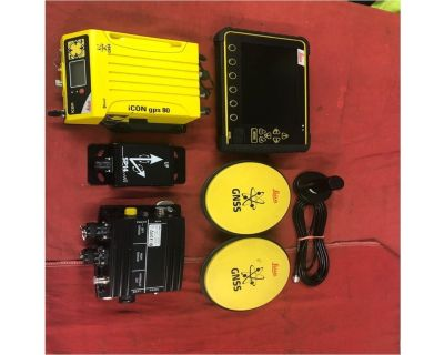 LEICA 3D DUAL GPS DOZER KI Grade Control Systems Attachment