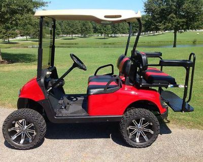 2009 Ezgo Rxv Lifted Cart
