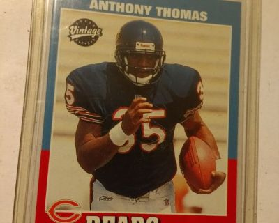 2001 Upper deck Vintage RC Anthony Thomas # 213 NM-MT Condition.