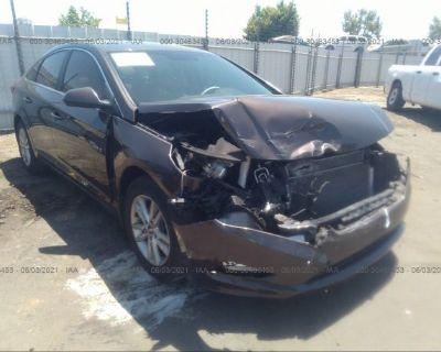 Salvage Brown 2016 Hyundai Sonata