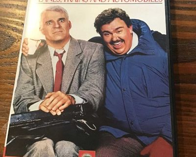 Planes, Trains, and Automobiles DVD - code ms