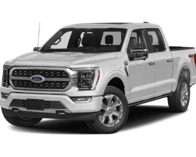 New 2021 Ford F-150 Platinum 4WD Crew Cab Pickup