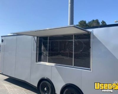 2020 8' x 24' Lightly Used Ice Cream Concession Trailer with Restroom