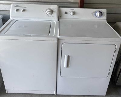Kenmore Washer And GE Electric Dryer