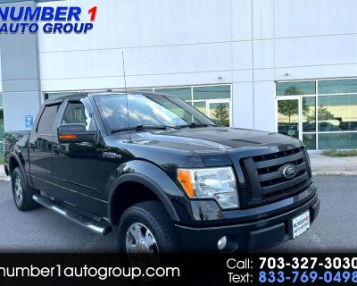 Used 2010 Ford F-150 XLT SuperCrew 5.5-ft. Bed 4WD