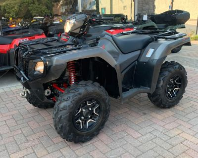 2018 Honda FourTrax Foreman Rubicon 4x4 Automatic DCT EPS Deluxe ATV Utility Osseo, MN