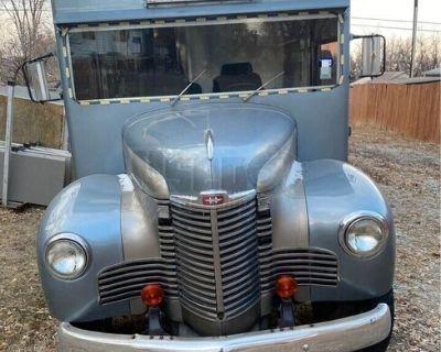 Vintage Used 1948 Ford International All-Purpose Food Truck