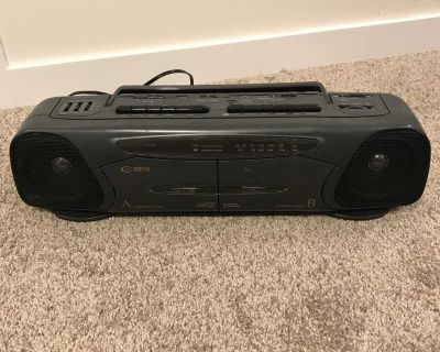 Curtis Double Tape Player Stereo