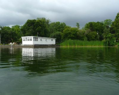 Escape to this little gem and spend time on the water away from it all. - Seneca Falls