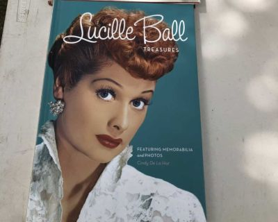 Coffee table book Lucille Ball