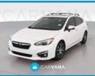 2018 Subaru Impreza White, 72K miles