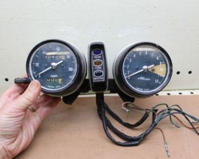 1974 Honda Cb360 (#12) Speedometer Tachometer Gauge Cluster