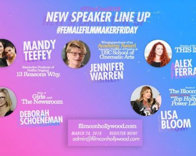 Speakers Filmcon Hollywood